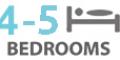 4-5Bedrooms